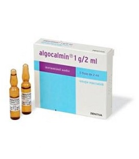 ALGOCALMIN 1 g/2 ml X 5 SOL. INJ.