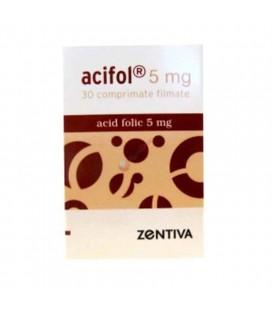 ACIFOL 5 mg X 30 COMPR. FILM.
