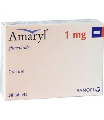 AMARYL 1mg X 30 COMPR