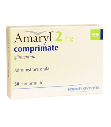 AMARYL 2 mg X 30 COMPR