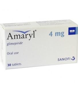 AMARYL 4 mg X 30 COMPR