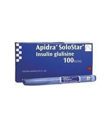 APIDRA 100U/ml X 5 SOL. INJ. IN STILOU INJECTOR PREUMPLUT