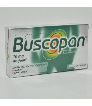 BUSCOPAN 10 mg X 20 DRAJ.