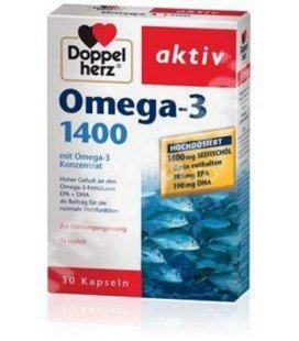 DOPPELHERZ Omega 3  x 30cps
