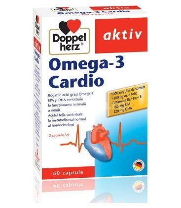 DOPPELHERZ Omega 3 Cardio  x 60cps