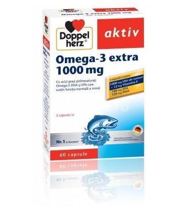 DOPPELHERZ Omega 3 extra 1000mg x 60cp