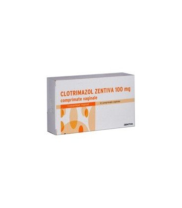 CLOTRIMAZOL 100 mg X 12 COMPR. VAG.