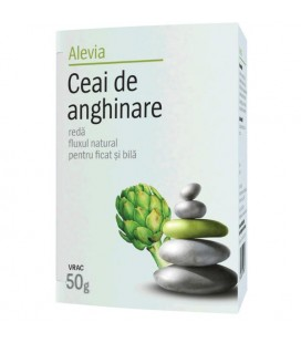 Ceai de anghinare x 50 g cutie  ALEVIA