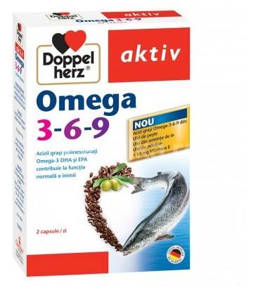 DOPPELHERZ Omega 3-6-9 x 30cps