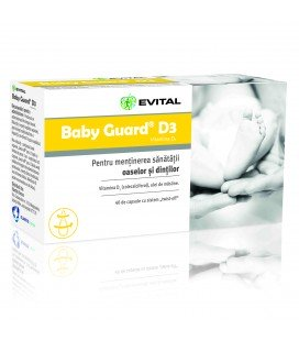 Evital baby guard D3 x 40cps