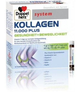 System Kollagen 11000 plus x 10 fiole