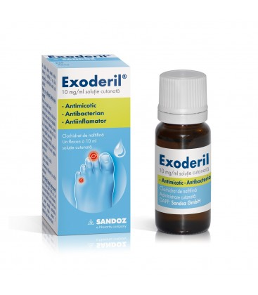 EXODERIL X 1 SOL. CUT. 10mg/ml