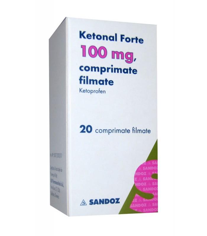 ketonal forte pastile pret)