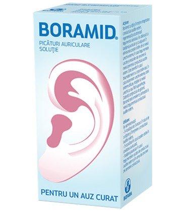 Boramid solutie otica x 10ml Cutie  BIOFARM