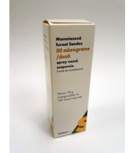 MOMETAZONA FUROAT SANDOZ 50 micrograme/doza X 1 SPRAY NAZ.