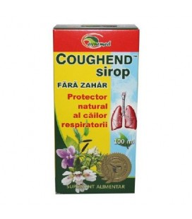 Coughend sirop fara zahar x 100ml CUTIE  STAR INTERNATIONAL