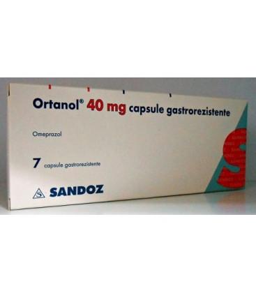 ORTANOL 40 mg X 7 CAPS. GASTROREZ.