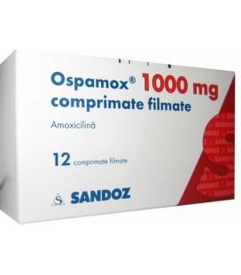 OSPAMOX 1000 mg X 12 COMPR. FILM.