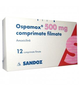 OSPAMOX 500 mg X 12 COMPR. FILM.