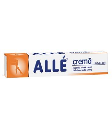 ALLE CREMA 10 mg+250 UI/gram X 35G CREMA FARA CONCENTRATIE FITERMAN