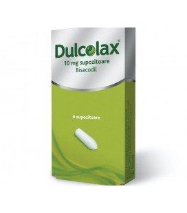 DULCOLAX 10 mg X 6 SUPOZ.