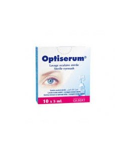 Optiserum solutie oculara 5ml x 10unidz