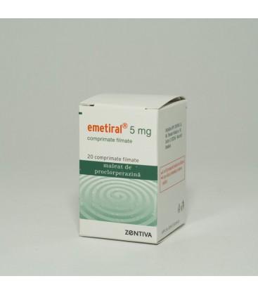 EMETIRAL 5 mg X 20 COMPR. FILM