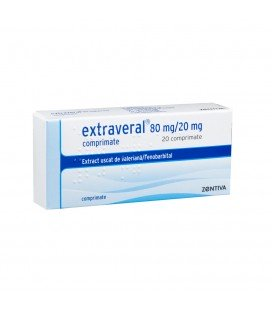 EXTRAVERAL  80mg/20 mg X 20 COMPR.