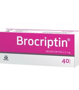 BROCRIPTIN X 40DJ DRAJ 2,5mg