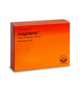 MAGNEROT  X 100 COMPR. 500mg
