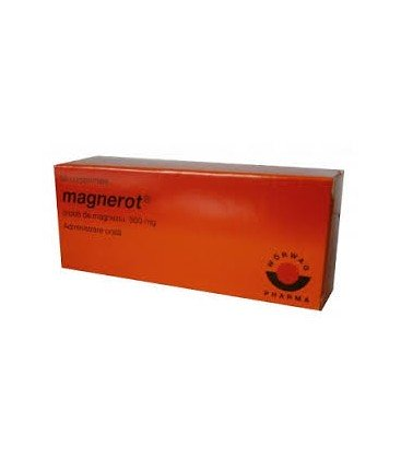 MAGNEROT (R) X 50 COMPR. 500mg