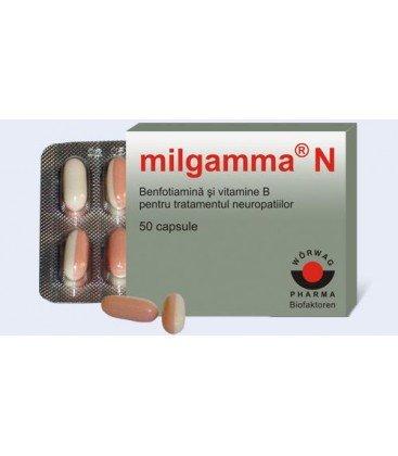MILGAMMA N X 50DJ CAPS. MOI