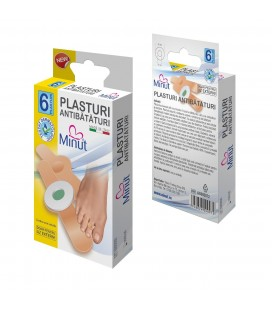 MINUT Plasturi antibataturi x 6 buc