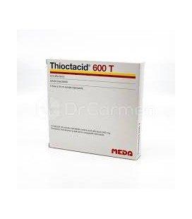 THIOCTACID 600T  X 5FI SOL. INJ. 25mg/ml