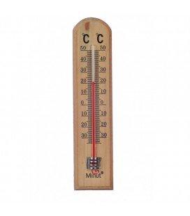 MINUT Termometru camera suport lemn x 1buc
