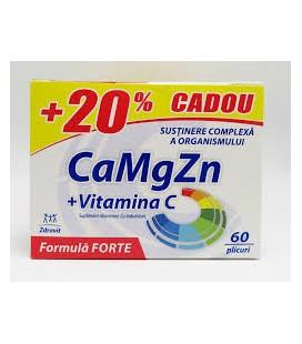 ZDROVIT Ca+Mg+Zn+C Forte x 60plicuri CUTIE  ZDROVIT