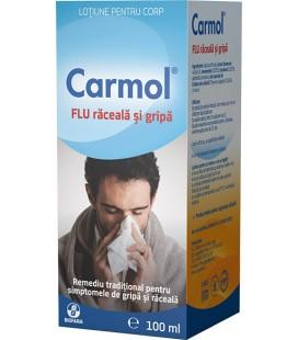 Carmol Flu lotiune corp x 100ml Cutie  BIOFARM
