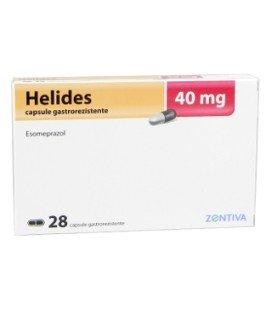 HELIDES 40 mg X 28 CAPS. GASTROREZ.