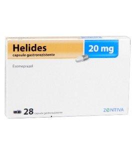 HELIDES 20 mg X 28 CAPS. GASTROREZ.