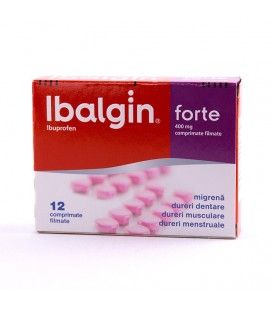 IBALGIN FORTE 400mg X 12 COMPR. FILM.
