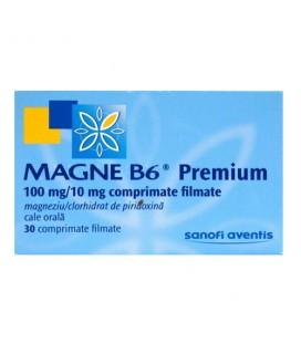 MAGNE B6 PREMIUM 100mg/10mg X 30 COMPR. FILM.