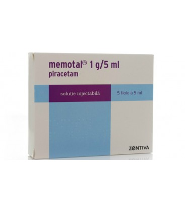 MEMOTAL1 g/5 ml X 5 SOL. INJ.