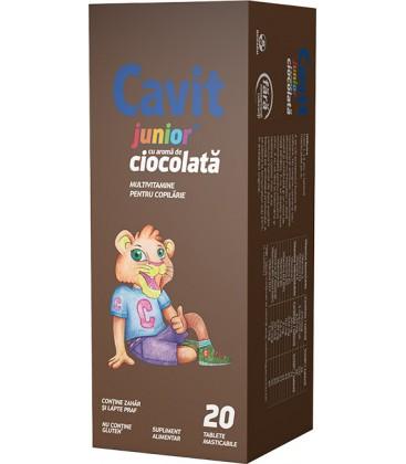 Cavit Junior cu ciocolata x 20tb.mast   . Cutie  BIOFARM