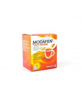 MODAFEN HOT DRINK 650 mg/10mg x 12 PULB. PT.SUSP. ORALA