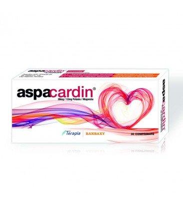 ASPACARDIN 39 mg/12 mg X 30 COMPR.