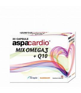 Aspacardio Mix Omega3 + Q10 x 30cps