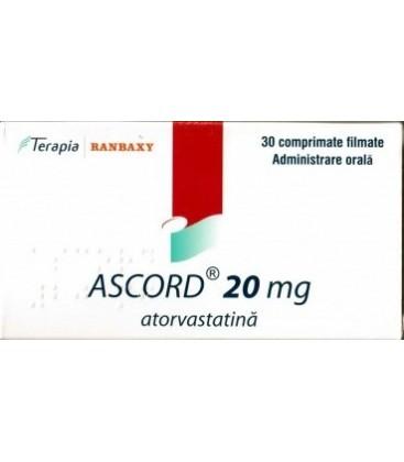 ATORVASTATINA TERAPIA 20 mg X 30 COMPR. FILM.