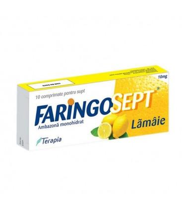 FARINGOSEPT  LAMAIE 10 mg X 10 COMPR. DE SUPT