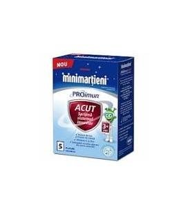 W-Minimartieni Pro Imun Acut x 5plic Cutie  WALMARK