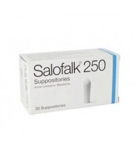 SALOFALK (R) 250 mg X 10 SUPOZ. 250mg EWOPHARMA